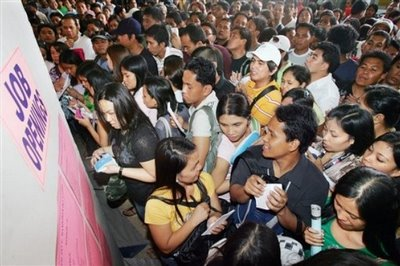 Philippine job growth lowest in ASEAN-5