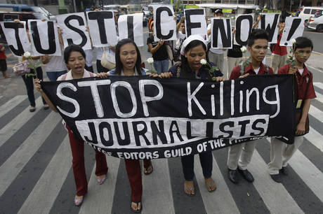 Journalist killed in the Philippines
