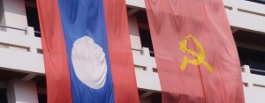 laos flags