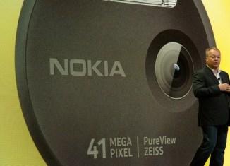 Nokia unveils 41-megapixel camera phone