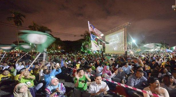 Election result shows ethnic divide