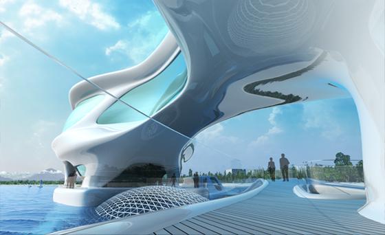 Bali's planned tsunami center a design masterpiece