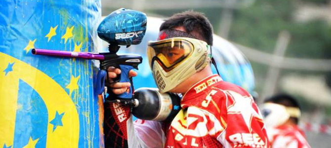 Paintball rapidly becoming popular in Singapore (video)