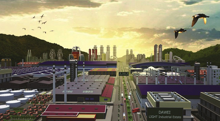 Next blow for Myanmar's Dawei project