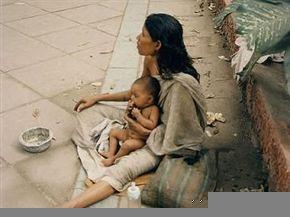 philippines beggar lady