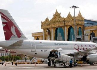 Qatar Airways Myanmar1