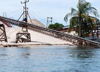 Cambodia's new export hit: Sand