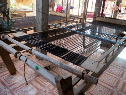 Silk Island loom