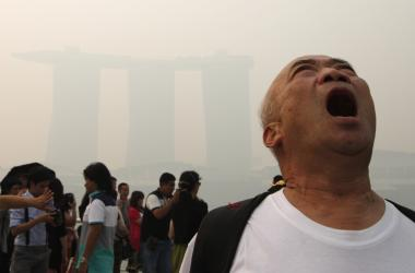 Haze-related sicknesses plague Singapore