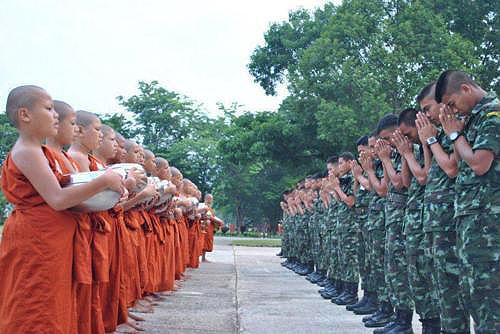 Thailand's soldier monks