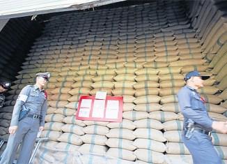 Thai Rice Stockpile