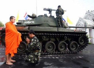 Thailand's soldier monks