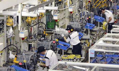 Toyota builds new engine plant in Indonesia
