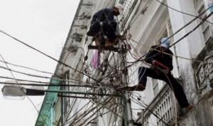 yangon power lines