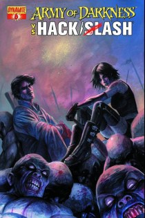 ARMY OF DARKNESS VS HACK SLASH #6 COVER A