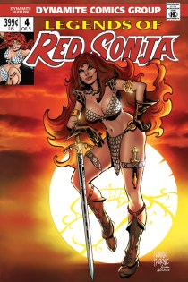 LEGENDS OF RED SONJA #4 SUB COVER