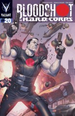 BLOODSHOT AND H.A.R.D. CORPS #20 VARIANT A