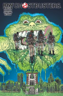 GHOSTBUSTERS #14 SUB COVER