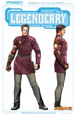 LEGENDERRY A STEAMPUNK ADVENTURE #3 CONCEPT B COVER