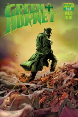 MARK WAIDS THE GREEN HORNET #11 SUB COVER