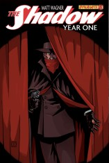 SHADOW YEAR ONE #8 WAGNER COVER