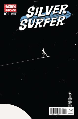 SILVER SURFER #1 VARIANT A