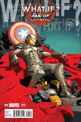 WHAT IF AGE OF ULTRON #1 VARIANT