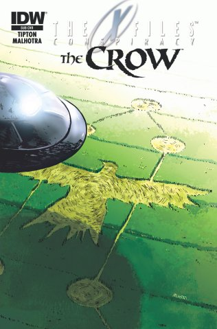 X-FILES CONSPIRACY THE CROW SUB VARIANT