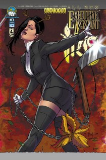 ALL NEW EXECUTIVE ASSISTANT IRIS #4 COVER B