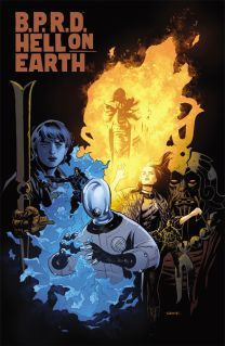 B.P.R.D. HELL ON EARTH SOOK COVER