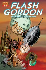 FLASH GORDON #1 SUB COVER