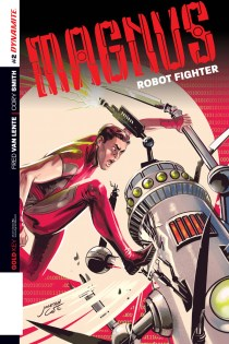MAGNUS ROBOT FIGHTER #2 CASE COVER