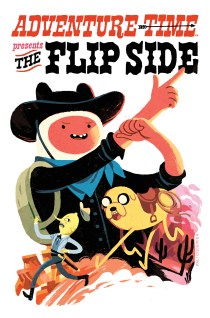 ADVENTURE TIME THE FLIP SIDE #5 COVER D