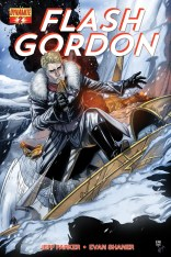 FLASH GORDON #2 LAMING COVER