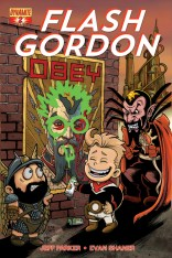 FLASH GORDON #2 SUB COVER