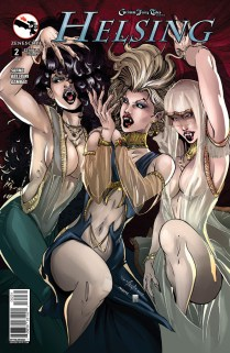 GRIMM FAIRY TALES HELSING #2 COVER C