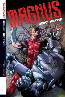 MAGNUS ROBOT FIGHTER #3 SEGOVIA COVER