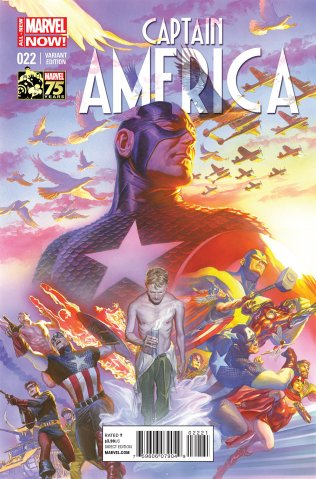 CAPTAIN AMERICA #22 VARIANT A