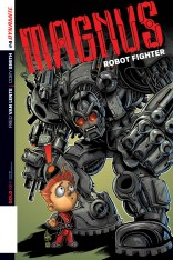 MAGNUS ROBOT FIGHTER #4 HAESER COVER
