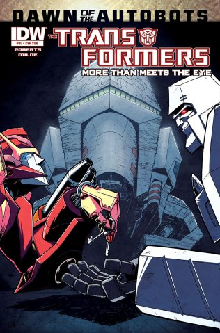 TRANSFORMERS MORE THAN MEETS THE EYE #30 SUB COVER