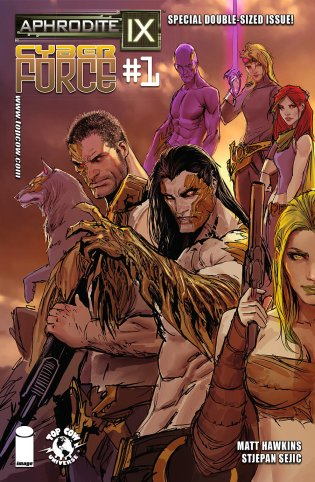 APHRODITE IX CYBER FORCE #1 COVER A