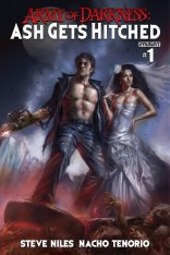 ARMY OF DARKNESS ASH GETS HITCHED #1 PARRILLO COVER