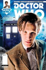 DOCTOR WHO 11TH DOCTOR #1 VARIANT C