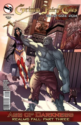 GRIMM FAIRY TALES GIANT SIZE 2014 COVER B