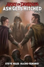 ARMY OF DARKNESS ASH GETS HITCHED #2 SUB COVER