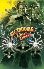 BIG TROUBLE IN LITTLE CHINA #4 COVER A