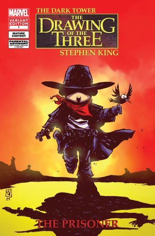 DARK TOWER THE DRAWING OF THE THREE THE PRISONER #1 VARIANT B