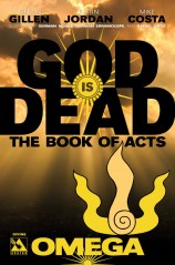 GOD IS DEAD BOOK OF ACTS OMEGA DEVINE COVER