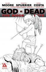 GOD IS DEAD THE BOOK OF ACTS ALPHA END OF DAYS PURE ART COVER