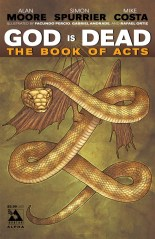 GOD IS DEAD THE BOOK OF ACTS ALPHA ICONIC COVER